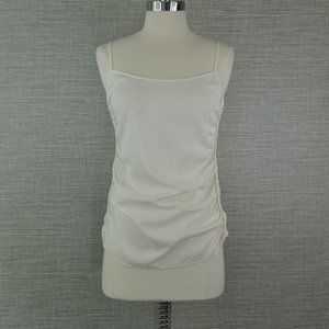 NWT Theory Georgette Ruched Camisole Top -S